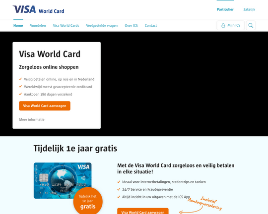Visa World Card Logo